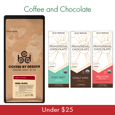 Coffee and Chocolate - Under $25