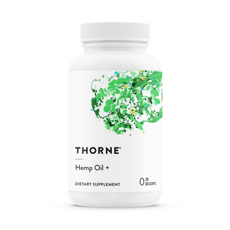 Thorne Hemp Oil + Gelcaps